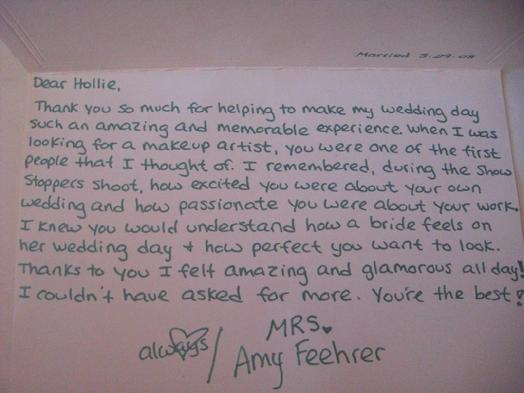 Amy Feehrer wedding